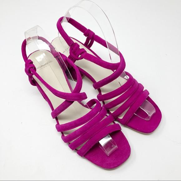 Vagabond Shoes - NEW Vagabond Raspberry Saide Suede Block Sandals